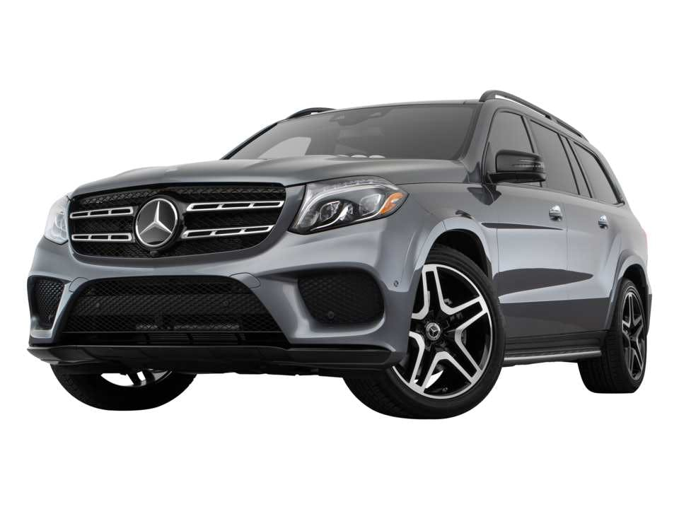2019 Mercedes Benz Gls Exterior Low Front Angle View