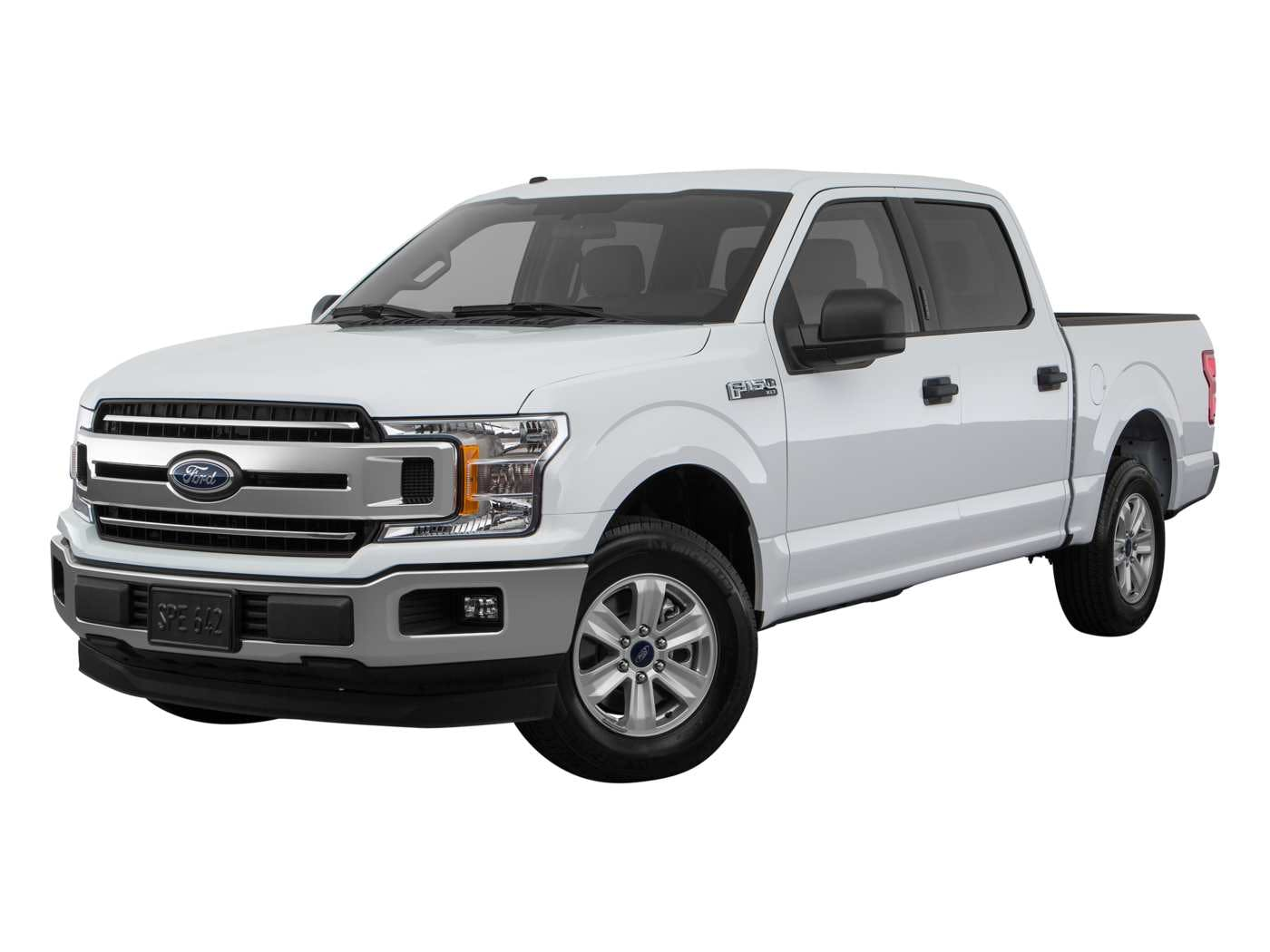Ford F  Exterior Front Angle View