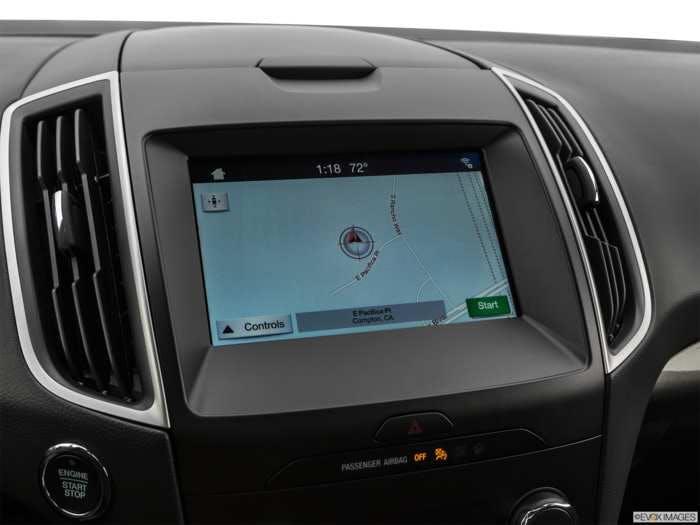 Ford Edge Navigation System