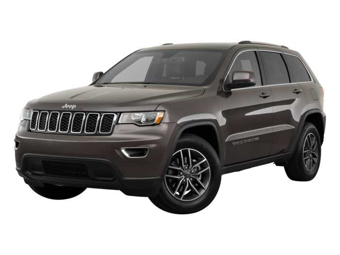 2019 Jeep Grand Cherokee Exterior Front Angle View