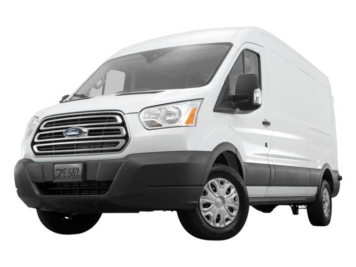 d36b6daaebdbcc 2018 Ford Transit Van Exterior Low Front Angle View