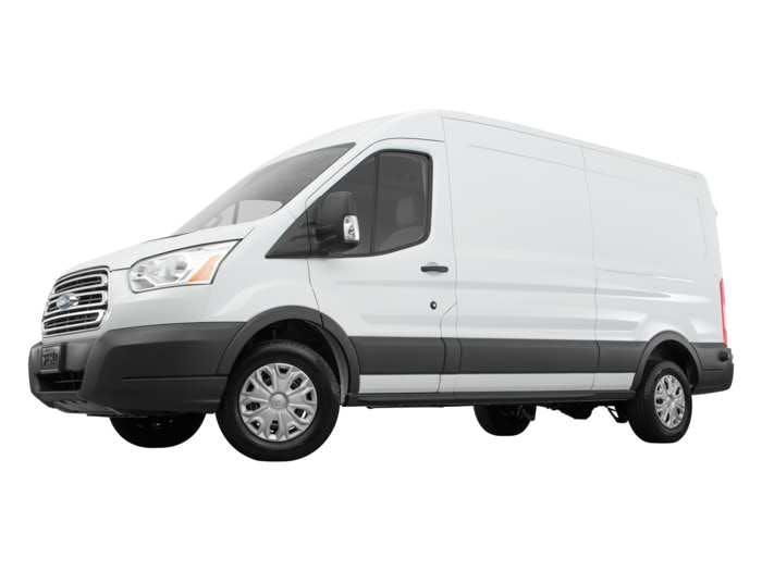 bfe106d35e5b09 2018 Ford Transit Van Exterior Front