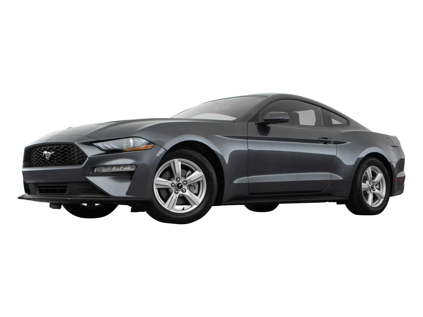 2019 Ford Mustang Exterior Front Low Wide View 2