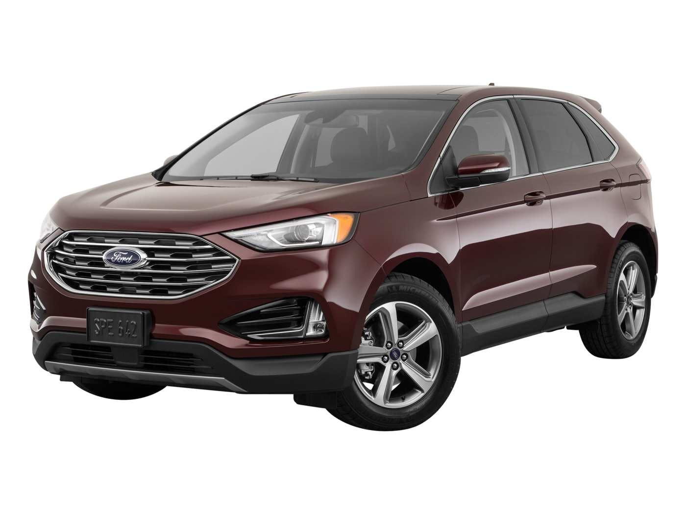 Ford Edge Exterior Front Angle View