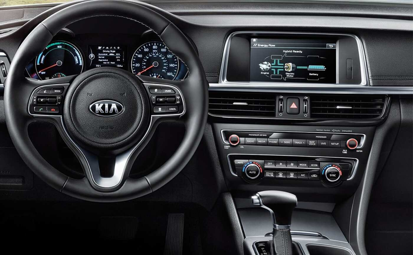 Kia Optima Interior >> 2020 Kia Optima Comparisons Reviews Pictures Truecar