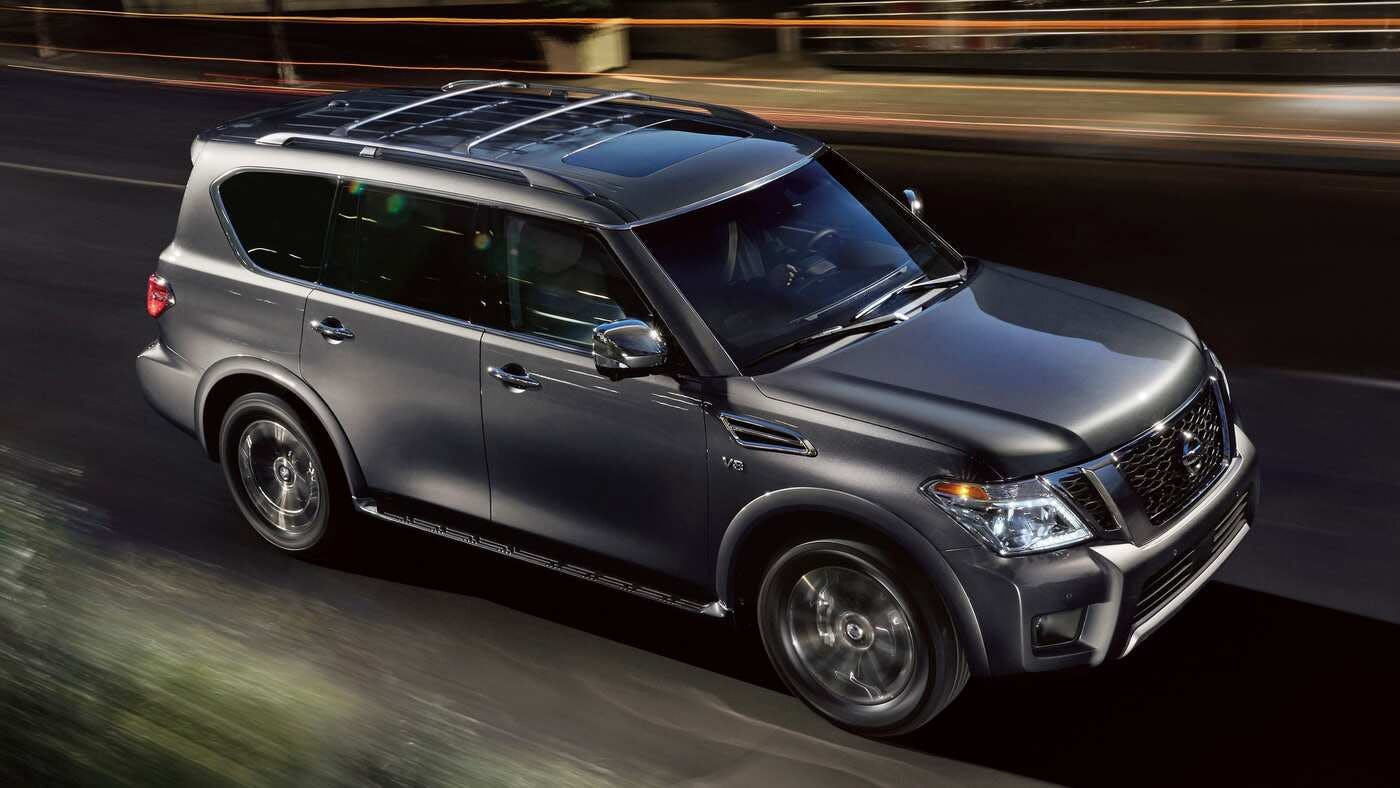 2020 Nissan Armada Release Date and Concept