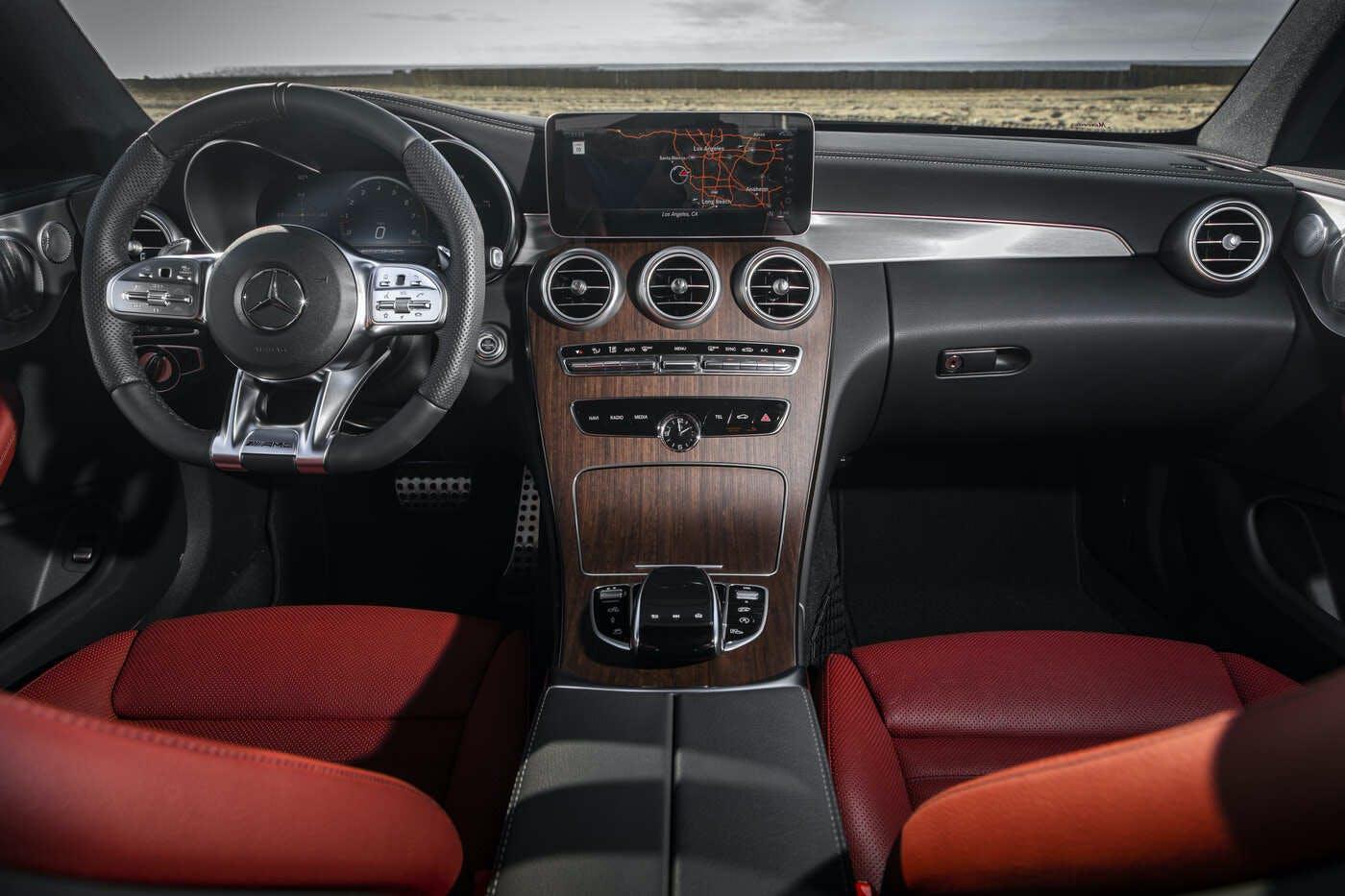 Mercedes-Benz OEM Carpeted Floor Mats 2015 to 2020 C-Class 4 Door Sedan W205