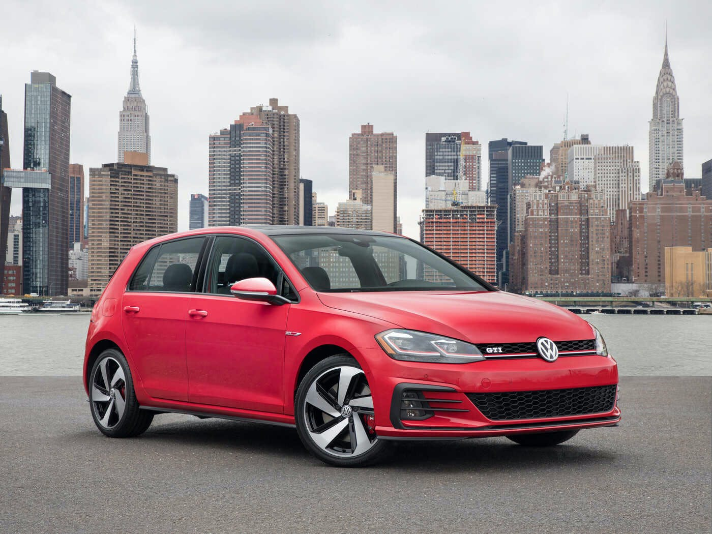 2019 Volkswagen Golf GTI Comparisons, Reviews & Pictures