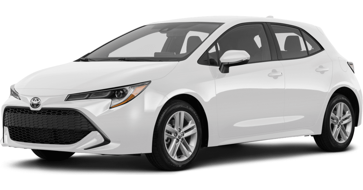2019 Toyota Corolla Hatchback Prices, Reviews & Incentives
