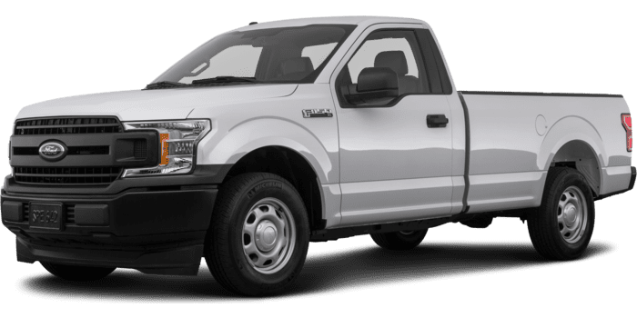 2019 Ford F-150 XLT Regular Cab 8.0' Box 4WD