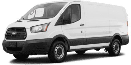 "Ford Transit Cargo Van T-250 with Swing-Out RH Door 148"" Low Roof 9000 GVWR"
