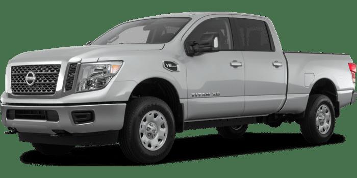 2019 Nissan Titan XD S Crew Cab Gas 4WD