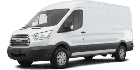 "Ford Transit Cargo Van T-350 with Dual Door 148"" High Roof 9500 GVWR"