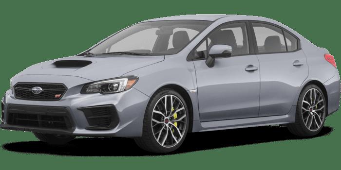 2020 Subaru WRX STI Limited with Wing Spoiler Manual