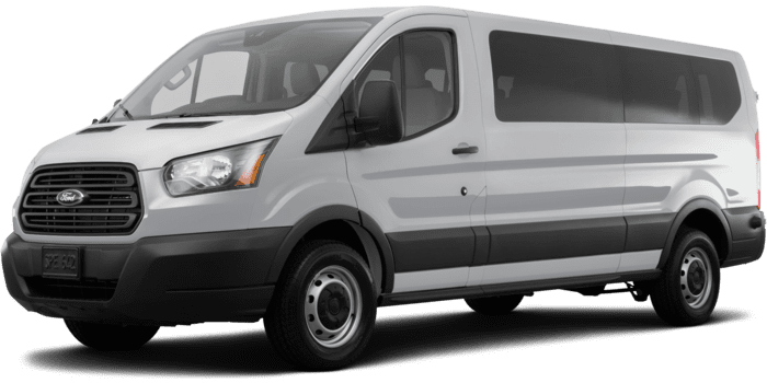 """Ford Transit Passenger Wagon T-150 XLT with Swing-Out RH Door 130"""" Low Roof"""