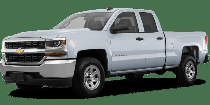 2019 Chevrolet Silverado 1500 LD Custom Double Cab Standard Box 2WD