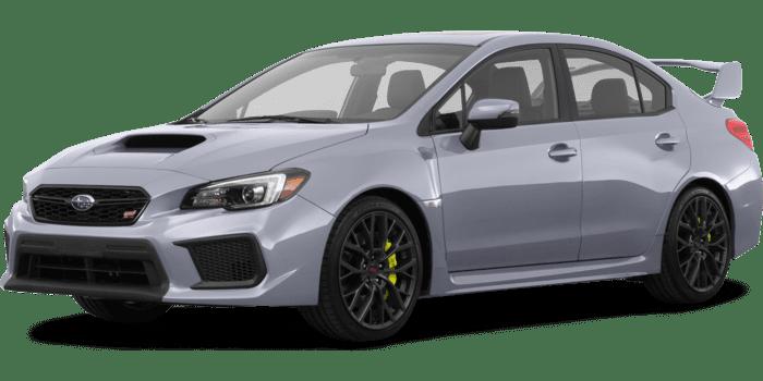 2019 Subaru WRX STI Limited with Wing Spoiler Manual